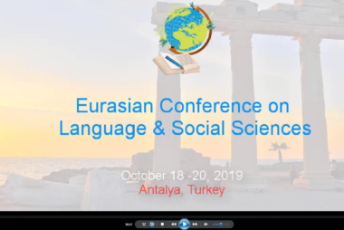 Watch our video clip about ECLSS2019d, Antalya