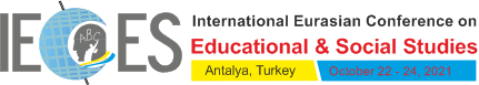 International Conference on Educational & Social Studies (IECES 2021) Logo
